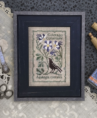 Colorado Columbine - Botanical Stitches by The Drawn Thread