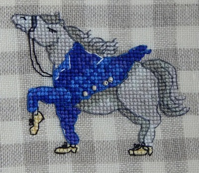 Mr.Blue Jacket-Nine Horses Galore by Madame Needle