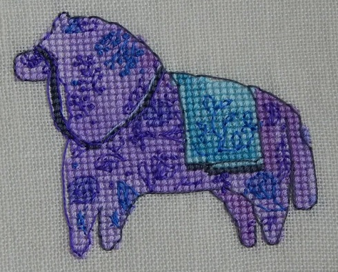 Lavender Horse-Nine Horses Galore by Madame Needle