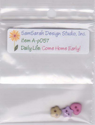 SamSarah Design Studio - Daily Life Come Home Early
