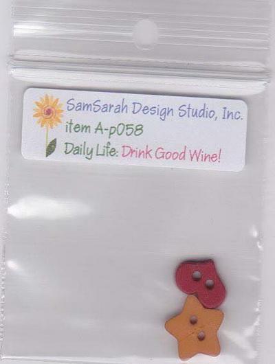 SamSarah Design Studio - Daily Life Drink Good Wine