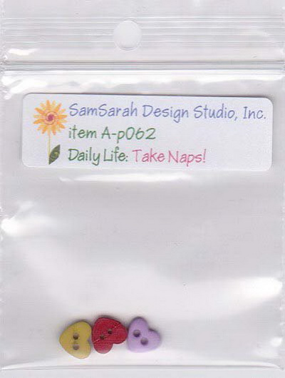 SamSarah Design Studio - Daily Life Take Naps