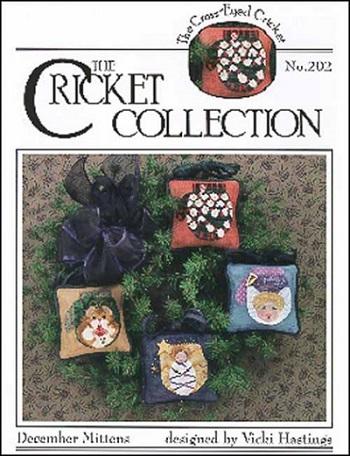 Cross-Eyed Cricket December mittens