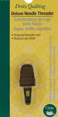 Quilting Deluxe Needle Threader by Dritz