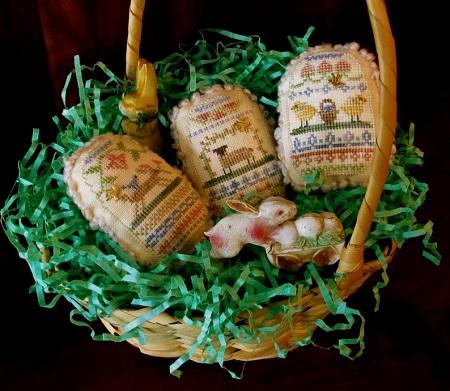 Homespun Elegance Spring Eggs IV