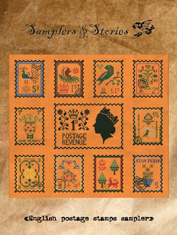 English postage by Samplers & Stories