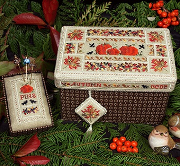 Beautiful Finishing 14 - Autumn Box by The Victoria Sampler
