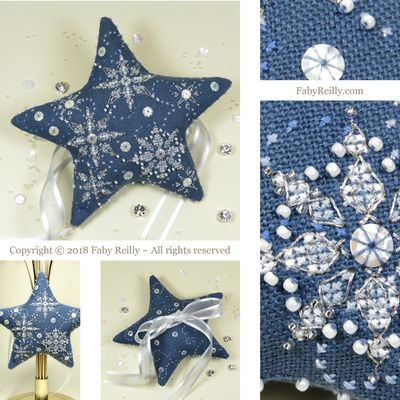 Faby Reilly Designs Let it Snow Star