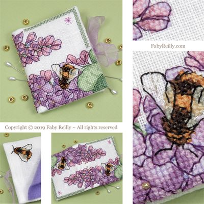 Faby Reilly Designs Lilac Needlebook