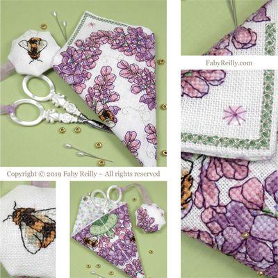 Faby Reilly Designs Lilac Scissor Case