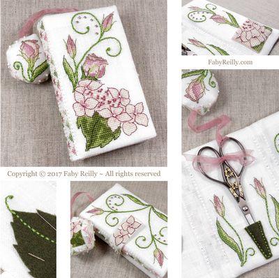 Faby Reilly Designs Lizzie Stitching Wallet