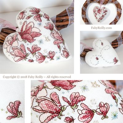 Faby Reilly Designs Magnolia Heart
