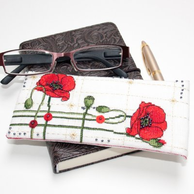 Faby Reilly Designs Poppy Glasses Case