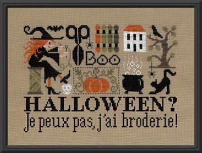 Jardin Prive Halloween? I Can't, I'm Stitching!