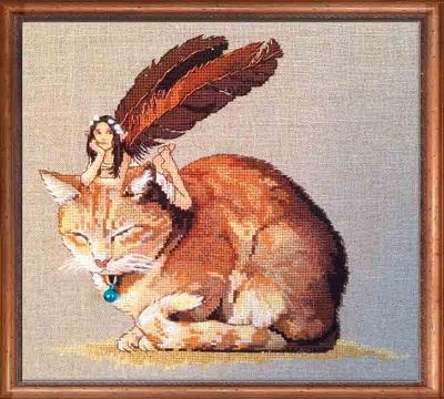 Fairy Cat by Nimue
