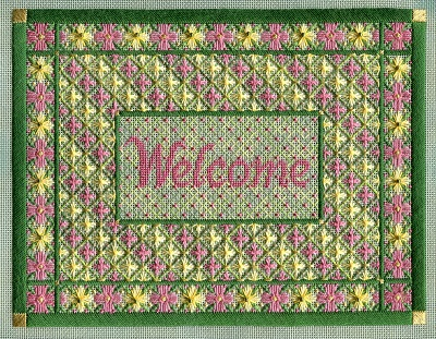 Floral Welcome by Laura J Perin Designs