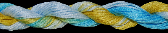 OVERDYED COTTON FLOSS 20 YARDS