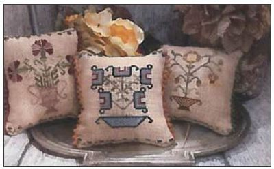 Flower Pot Pillows MDD-FPP by Mani di Donna