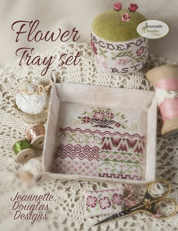 Jeannette Douglas Designs Flower Tray Set