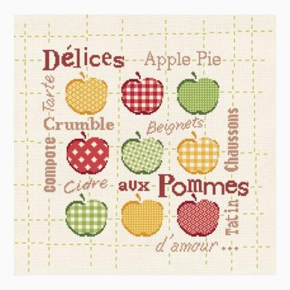 Delices aux pommes by Lili Points
