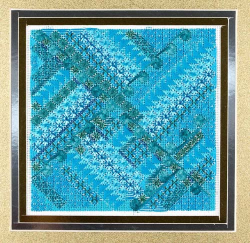 Glitz and Glamour Turquoise by Deb Bee's Designs