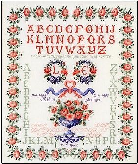 Sampler - Wedding,GOK2040,Thea Gouverneur