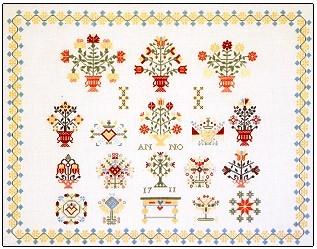 Sampler - 1711,GOK2067,Thea Gouverneur