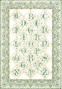 Sampler In Green,GOK2050,Thea Gouverneur