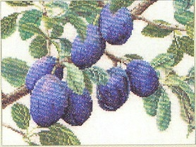 Branch of Plums by Thea Gouverneur