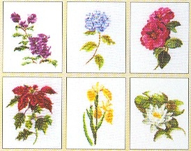 Flowers II - 6 Designs,GOK3087,Thea Gouverneur
