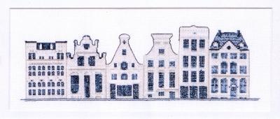Delft Blue Houses,GOK552,Thea Gouverneur