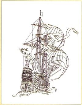 Ship Sketching,GOK981,Thea Gouverneur