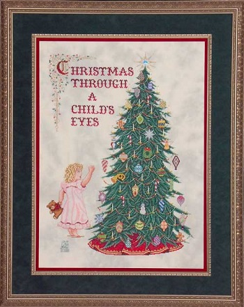 Christmas through a Child's eyes by Glendon place