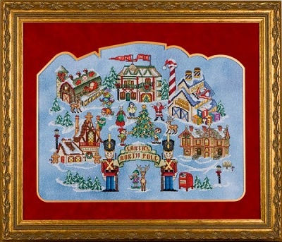 Glendon Place Santa's North pole