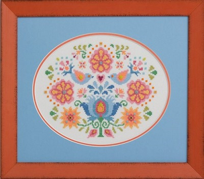 Hungarian Folk Art No. 1 by Glendon Place