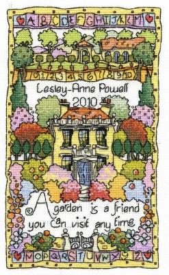 Garden - MPCP78 - Michael Pawell Art