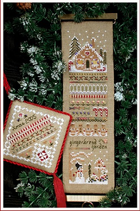 Gingerbread Garden Sampler by The Victoria Sampler