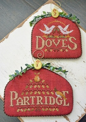 Partridge & Doves - 12 Days by Hands On Design
