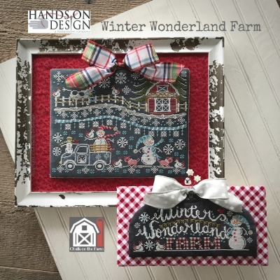 Winter Wonderland Farm - Chalk on the Farm (4/4) (2designs)