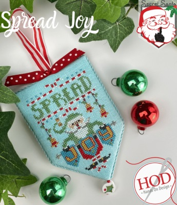 Spread Joy - Secret Santa Series (7/8) by Hands On Designs