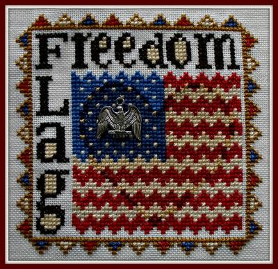 Hinzeit Freedom Flag - Word Play