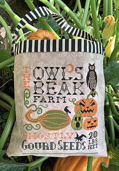 Halloween Seed Sack by Carriage House Samplings