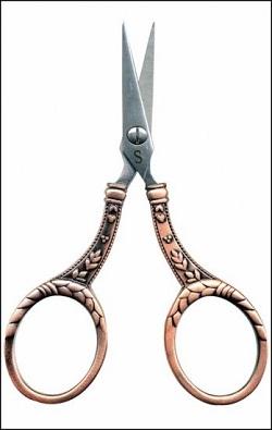 Heirloom Copper with Round Handles scissors by Sullivans