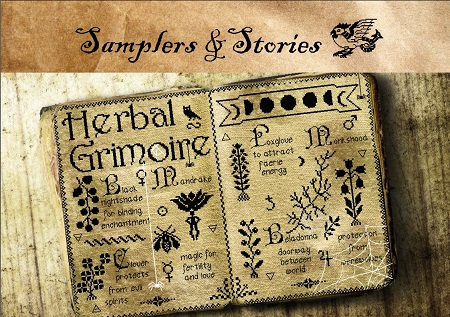 Herbal Grimoire by Samplers & Stories