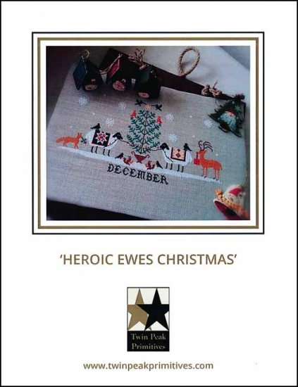 Twin Peak Primitives - Heroic Ewes Christmas'