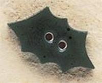 Debbie Mumm Buttons - 43171 - Holly Leaf