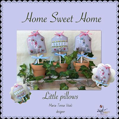 Home Sweet Home little pillows by MTV Designs