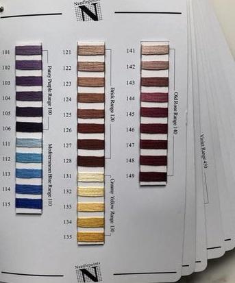 NPI Color card