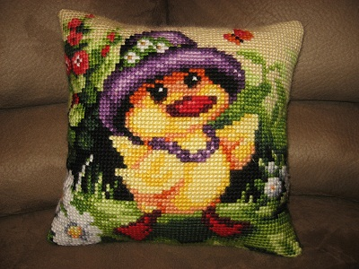 Quackers Cushion by Orchidea