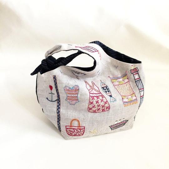 Un Chat Dans L'alguille SUMMER tie-top bag kit